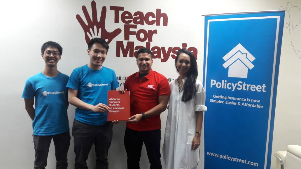 PolicyStreet Announces Partnership With Teach For Malaysia (TFM) Foundation To Advance Inclusive Finance In Malaysia