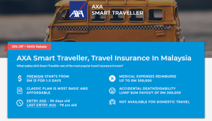 AXA Affin Travel Malaysia - From PolicyStreet