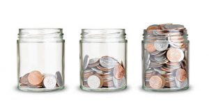 Save Money Keep Spare Change Into A Jar